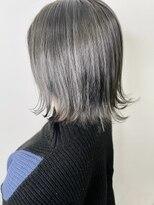 ソース ヘア アトリエ 京橋(Source hair atelier)【SOURCE】プラチナシルバー