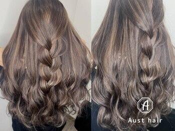 オーストヘアージール(Aust hair Zeal)の写真/【名駅徒歩1分★】話題のイルミナorアディクシーカラーが選べる♪R(アール)を追加して柔らかく艶やかな髪に