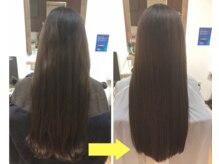 髪質改善ヘアエステの施術の流れとビフォーアフター!