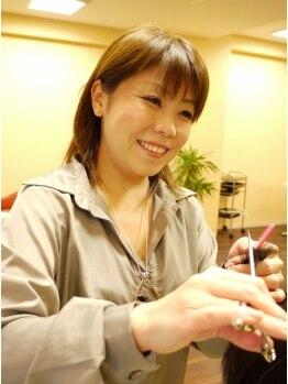 """ヘアースペース シュシュ(Hair Space Shou Shou)の写真/""""女性同士だから伝わりやすい♪""""会話を楽しみながら髪も心もスッキリ!髪の悩み解消&扱いやすいStyleに!"""