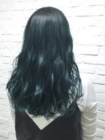 ヘアサロン エフ(HairSalon F)マニックパニック モスグリーン