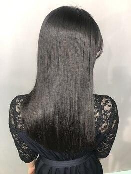 アモン 古船場店(amon Hair care&Design)の写真/【髪質改善】amonの看板メニューの『ぬけがけTR』で髪質作りのスタートラインに♪