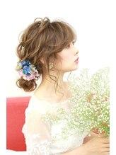ヘアセットサロン パスクア(Hair Set Salon Pasqua)パスクア *bridalローシニヨン
