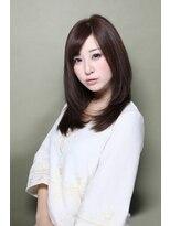 ヘナ ファクトリー 八王子店溢れるツヤ感と黒髪美人オーラ☆魔性ロングストレート