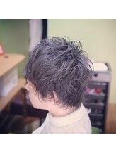 ナウアンドゼン(Now&Then)男子もアイロンで髪遊び♪