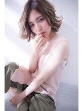ヘアメイク ブランニュー エターナル 天王寺店(hair make Brand new eternal)【Brand new】シースルーサファリベージュ