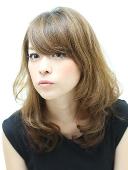 ヘアーレコード(hair Records)の写真/【パーソナルカット¥4320】諦めていた髪の悩みもカットで解決◎クセ毛や毛流れに合わせて扱いやすい髪に♪
