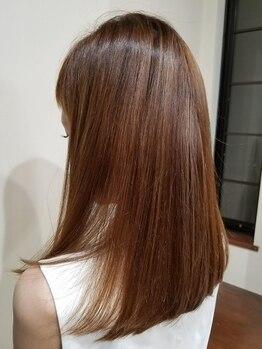 ルプラ ガーデン(le-pla garden)の写真/髪質に合った薬剤で、自然なストレートに仕上げます♪あなたの髪質を見極め、ご提案致します!