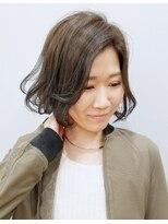 エイム ヘアメイク 横川店(eim HAIR MAKE)eim で叶える♪ふんわりやさしい☆愛されショートボブ