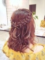 ブレッザヘアー(Brezza hair)りぼん☆ハーフアップ×Brezza hair 笹塚