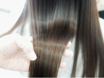 ヘアーメイク リル(HAIR MAKE Lir)の写真/[煌水]を使用したiogusラグジュアリーTrで補修成分をしっかり吸着・浸透して、芯から輝く髪を実現☆