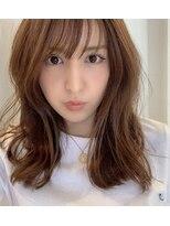 [桜井]イルミナカラー2way前髪イルミナカラーデジパ