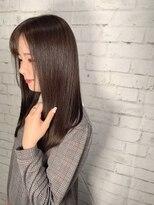 ヘアーアンドリフレ ドゥゼル(Hair&Refle Deux Alies)secret color+髪質改善+swケア