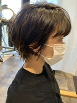レザボア ヘアーアンドビューティー ハイブ店(reservoir Hair&Beauty Haibe)ショートパーマ