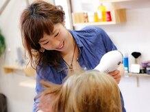 ヘアーサロンソラ hair salon solaの雰囲気(女性STAFFが多いので初めてでも緊張しないフレンドリーさが人気!)