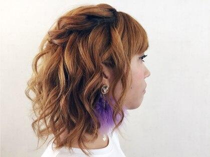 ヘアーアンドネイル ティー(hair&nail TEE)の写真