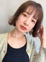 【LANY 横浜】シースルーバング×ブラウンベージュ