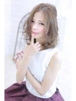 シーンエスト(sCene EST)☆sCene☆ 透明感のあるミディアムヘア