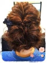 テフテフヘアーメイク(tef tef hair make)パーティースタイル