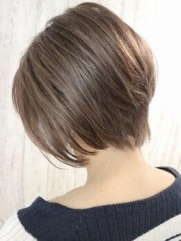 ピースナンバ(PEACE NAMBA)の写真/【なんば駅徒歩2分】独自の診断で理想の姿に!『モテ髪診断』で横顔、後ろ姿まで綺麗な360°美シルエット☆