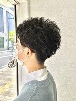 ヘアーアンドメイク ジズー(hair&make zizou)メンズパーマ