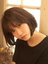 ベックヘアサロン 広尾店(BEKKU hair salon)「BEKKU」古川タカヨシ とろみモードなショートボブ