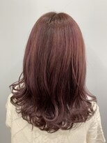 エイム ヘアメイク 横川店(eim HAIR MAKE)purple×pink