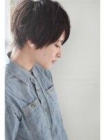 モッズ ヘア 海浜幕張店(mod's hair)セミウエットショート【EGEE 2015S/S】