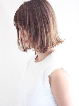 ナチュラルマリーク(Natural maleec)の写真/艶のあるサラサラヘアーで、美髪へ導く【髪質改善】メニューが登場しました♪