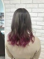 シュガー ヘアアンドネイル 仙台(SUGAR)◎グラデーションカラー×ピンクパープル◎