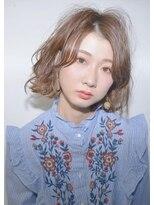 クリアーオブヘアー 栄南店(CLEAR of hair)【 CLEAR】大人可愛いクセ毛風ボブ