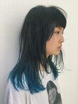 ピープル(people)2色のブルーが入ったグラデーションカラー