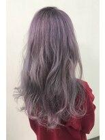 ヘアーサロン エール 原宿(hair salon ailes)(ailes 原宿)style418 デザインカラー☆パステルラベンダー