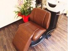 ヘア デザイン クリニック アンテナ(hair design clinic ANTENNA)の雰囲気(フルフラットのシャンプー台★)
