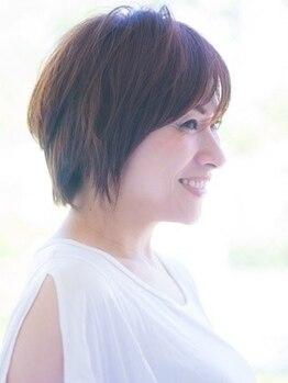ヘアーアンドメイクノイ 笹塚店(hair and make NEU)の写真/自宅での再現性◎一人一人のお悩みやライフスタイルに寄り添い、あなただけのスタイルをご提案♪