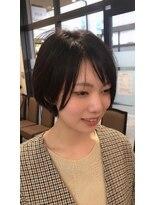 美容室おしゃれキャット 土山店変形☆ショートボブ