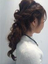 クラメール 黒崎コムシティ店(Kraemer)ブルーノがご提案する浴衣にあったヘアスタイル 9