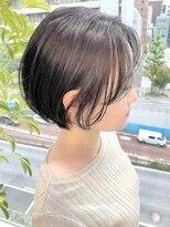 ヴィー 銀座二丁目(VIE)【銀座/VIE/つばさ】カットが上手い◎ふんわり軽い黒髪ショート
