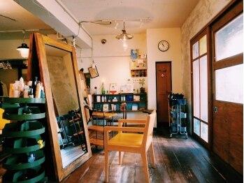 ラムネの写真/デザイン性&技術にこだわるサロン《ラムネ》オシャレでレトロな店内と小物があなたをお出迎え☆