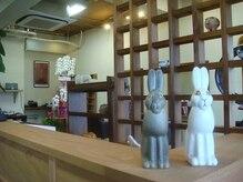 ヘアーサロン ラパン(Lapin)の雰囲気(明るく清潔な店内でお待ちしております。)