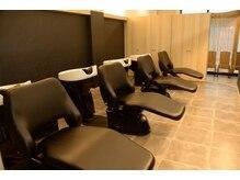 美容室おしゃれキャット 土山店の雰囲気(落ち着いた空間でのシャンプーやヘッドスパは癒しの時間☆)