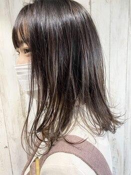 シュクルヘアー(Sucre Hair)の写真/【髪質改善メニュー】クセや広がりでお悩みの方はもちろん、なりたいStyleに合わせてポイント矯正も可能◎