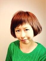 ヘア デザイン クリニック アンテナ(hair design clinic ANTENNA)キュート☆大人かわいい前上がりショートボブ