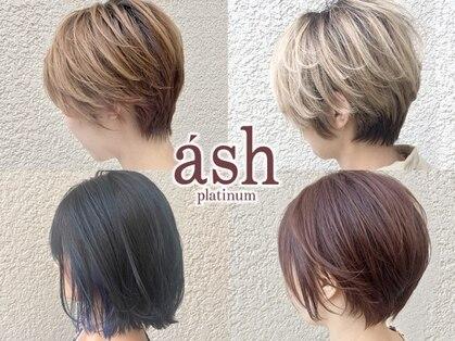 アッシュプラチナ(ash PLATINUM)の写真