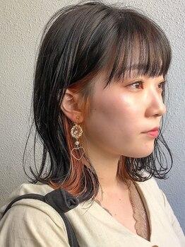"""アレッタ ヘア オブジェ(ALETTA HAIR objet)の写真/""""外国人風カラー""""が大好評◇明るさは抑えつつ、抜け感のあるカラーでオシャレ度UP◎アナタだけの可愛いを♪"""