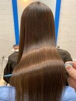 スローライフヘアーデザインアンドスパラウンジ(Slow life Hair design spa lounge)潤ツヤロング 高濃度水素質感矯正ミネコラトリプル