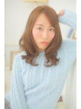 ヘアデザイン ラポール 茨木店(hair design Rapport)リラックスラグジュアリーモードなナチュラルセミディ☆