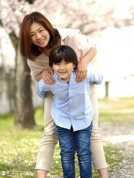 ヘアーズアッシュガーレ(Hair's Asciugare.)の写真/忙しいお母さん達へ!いつまでもキレイ、可愛いを続けたい!親子でも通えるアットホームなサロンです♪