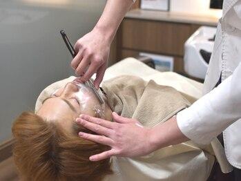 ケースタイルヘアスタジオ 虎ノ門店(K-STYLE HAIR STUDIO)の写真/メンズのプロによる一流のシェービングと頭皮ケアを是非1度ご体感ください!清潔感溢れる本物の男へ。