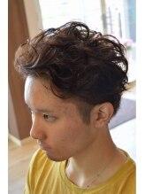 ピーエス ヘアーデザイン(PS. Hair Design)大人のオトコ。ワイルドパーマ